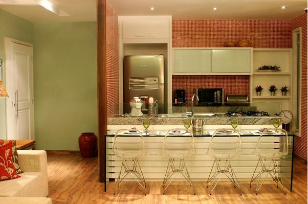 Cozinhas 31 cozinhas americanas projetadas por for Cocinas tipo americano modernas