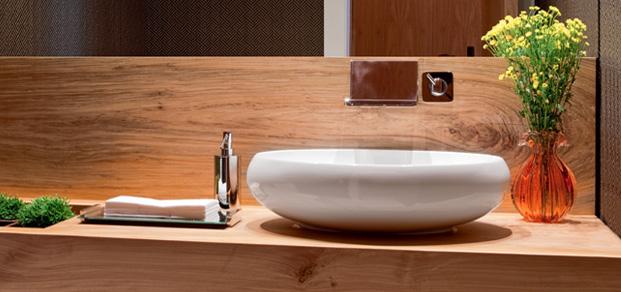decoracao lavabo papel de parede : decoracao lavabo papel de parede:- Seis lavabos com mármore, cimento queimado, papel de parede