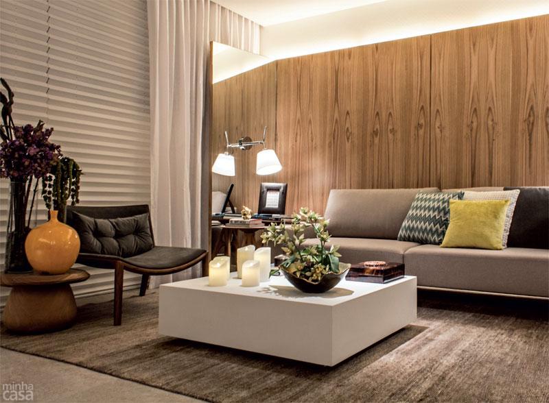 Fotos De Uma Sala De Estar ~ Decoração  Recrie uma sala da Casa Cor com móveis mais acessíveis