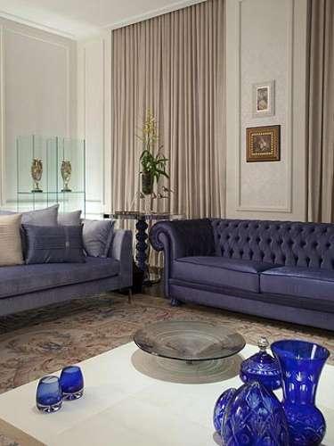 Sala De Estar Azul Marinho ~ Decoração  Dicas para escolher o sofá ideal  Blog  Imperius