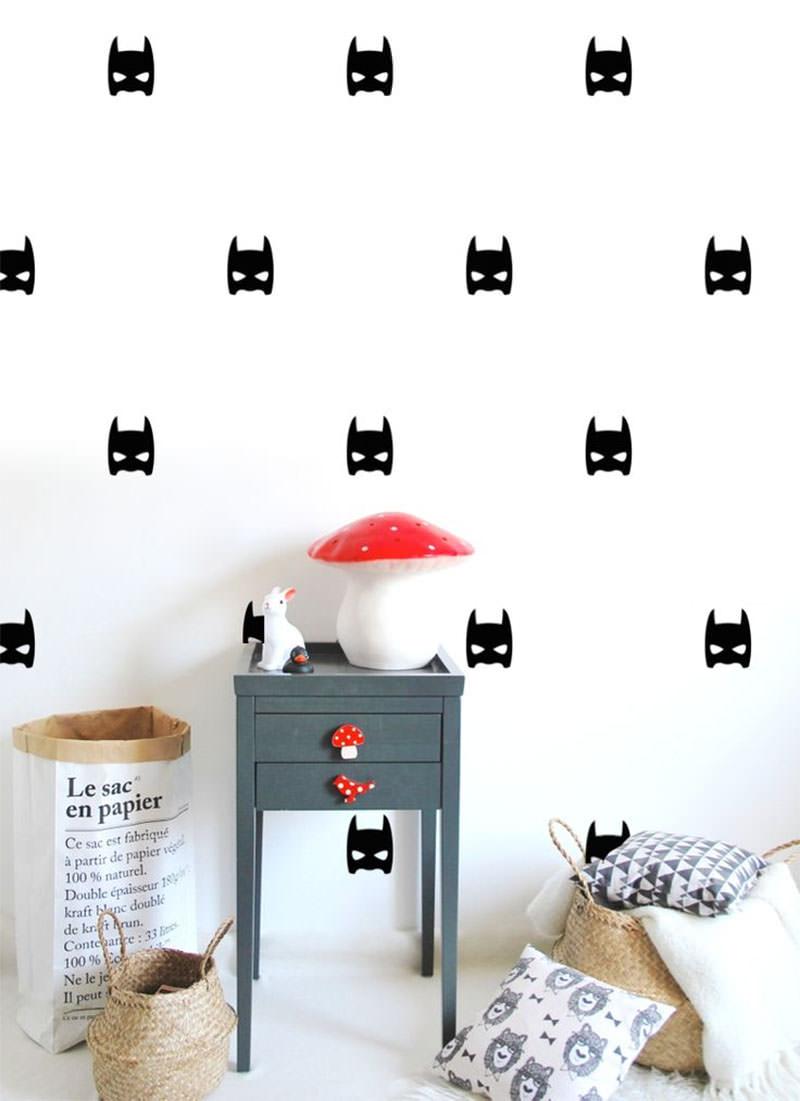 Decoração  Stencil, uma ótima alternativa aos papéis de parede  Blog  Impe