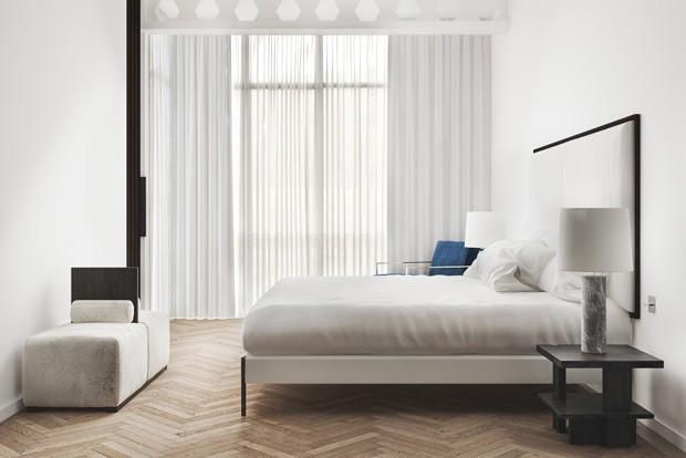 Decora??o - 12 quartos brancos decorados de forma ideal ...