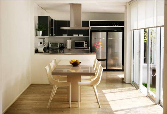 Cozinhas 31 cozinhas americanas projetadas por for Cocina americana sala de estar idea