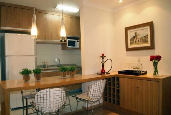 Cozinhas 31 cozinhas americanas projetadas por profissionais do casapro parte 2 blog - Armarios para sala de estar ...