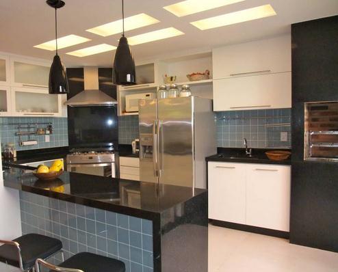 cozinhas 31 cozinhas americanas projetadas por profissionais do casapro parte 2 blog. Black Bedroom Furniture Sets. Home Design Ideas