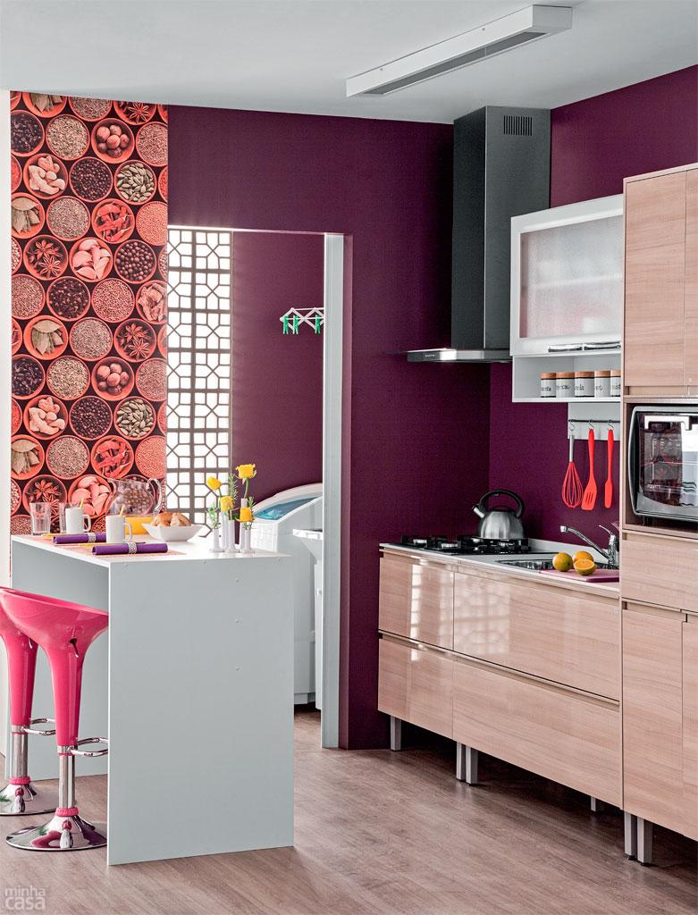 Cores Para Cozinha Americana Cool Cozinha Moderna Vermelha With