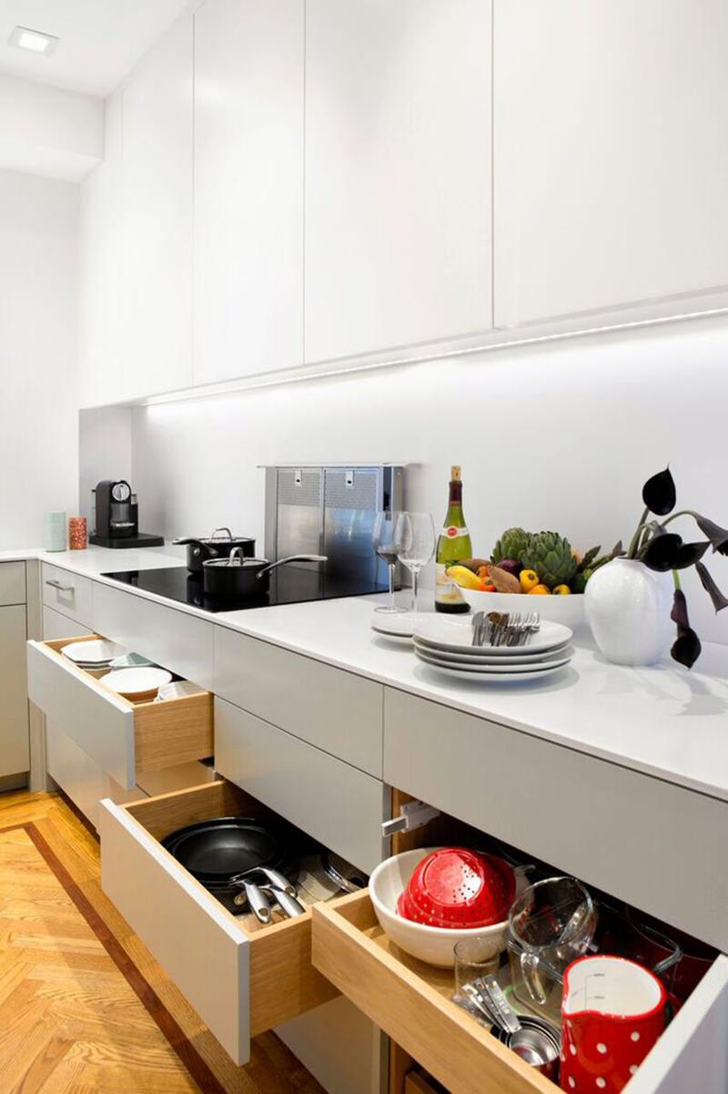 Cozinhas Um Projeto De Cozinha Pr Tico Simples E Moderno Blog