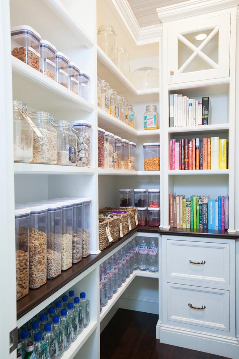 Cozinhas 20 Despensas Super Organizadas Para Voc Se Inspirar