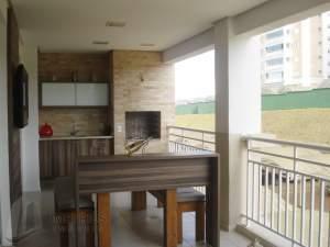 espaço gourmet apartamento Vila Oliveira