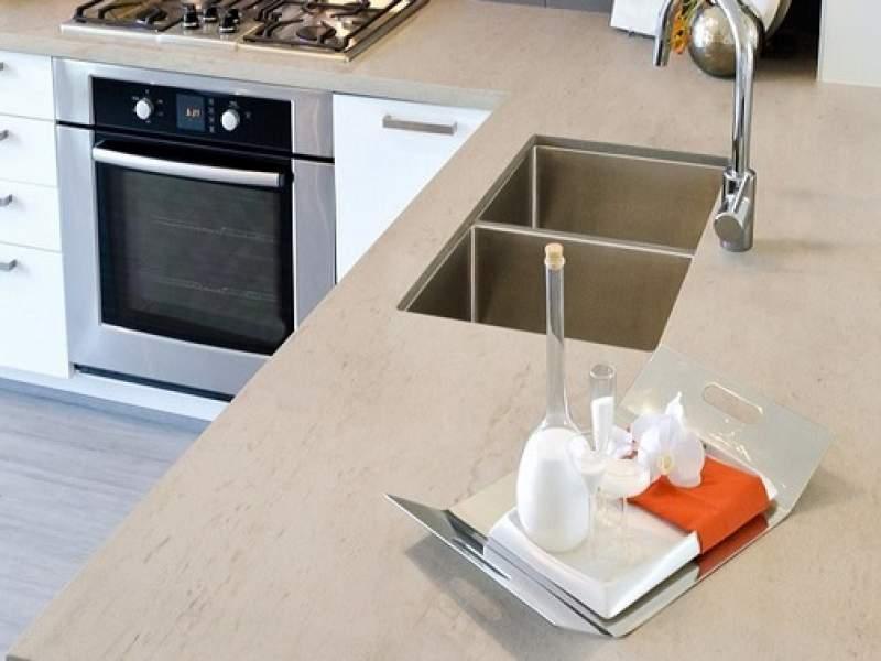 acabamento cozinhas com dekton - uma superfície que pode ser usada em tudo
