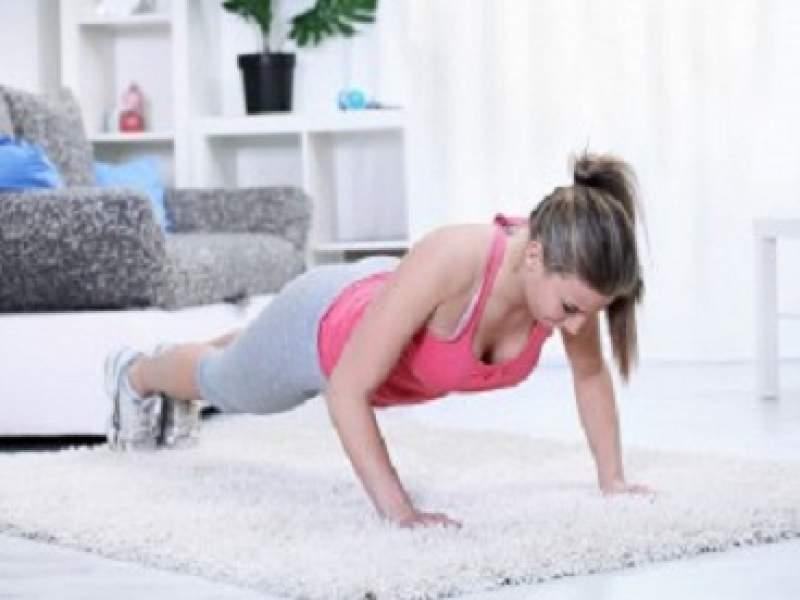 condicionamento físico exercícios para fazer em casa
