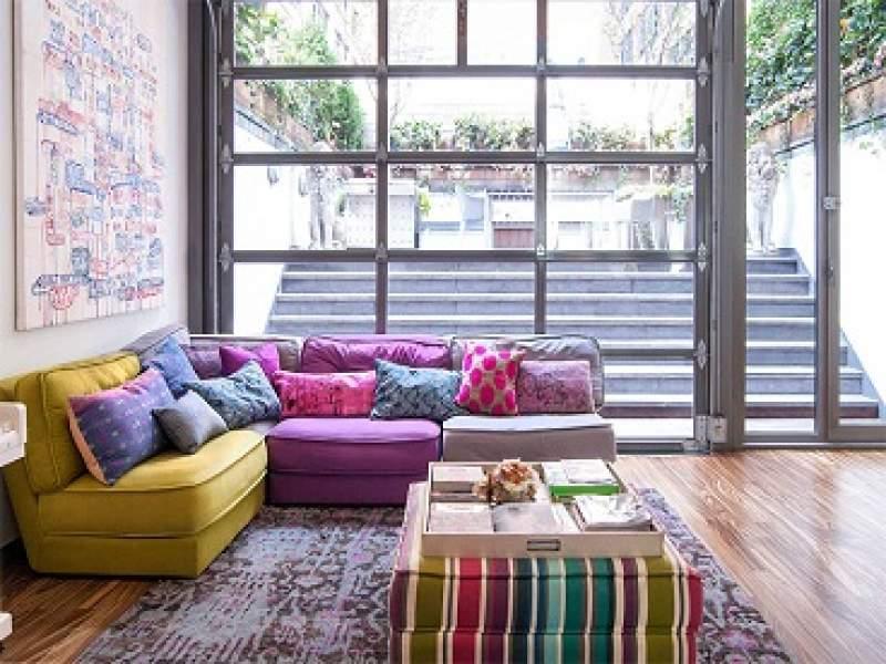 decoração 15 sofás coloridos para alegrar a decoração de qualquer sala