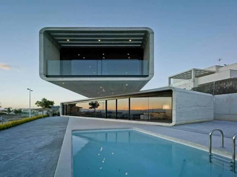 arquitetura casa cruzada e seu incrível design