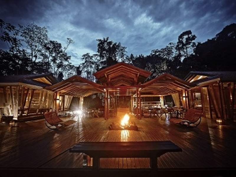 sustentabilidade hotel na floresta amazônica