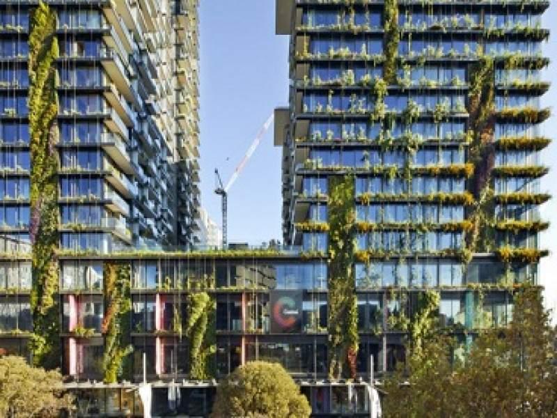 meio ambiente austrália tem edifício com maior jardim vertical do mundo