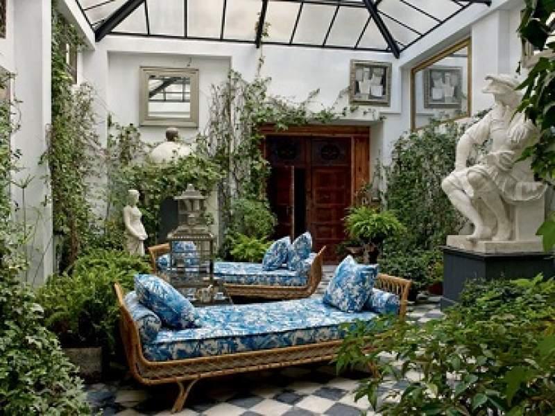 paisagismo 11 jardins guardados dentro de casa