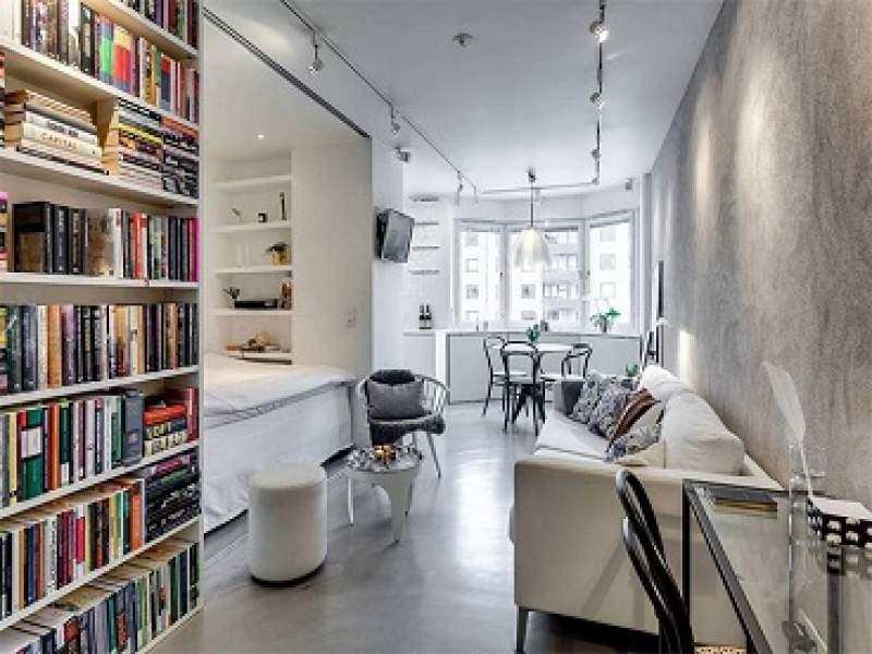 arquitetura apartamento pequeno para inspirar quem ama o cimento queimado