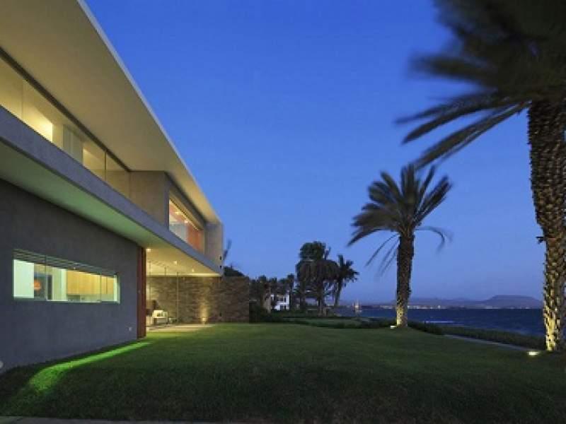 arquitetura casa mar de luz, o equilíbrio perfeito entre concreto, bambu e madeira