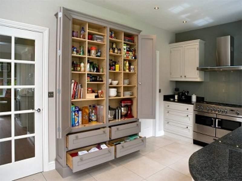 cozinhas 20 despensas super organizadas para você se inspirar - parte 2