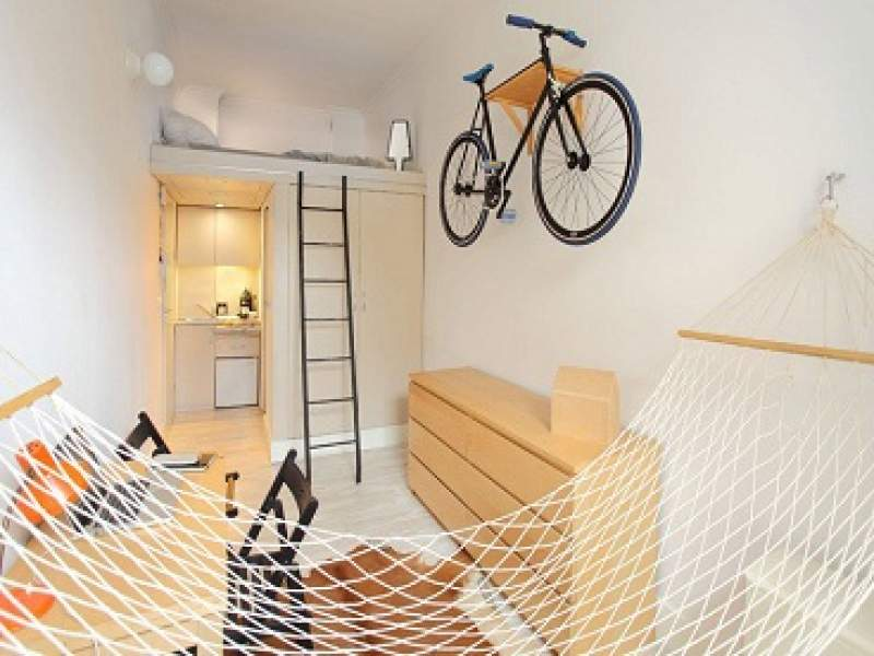 decoração apartamento funcional de 13 metros quadrados